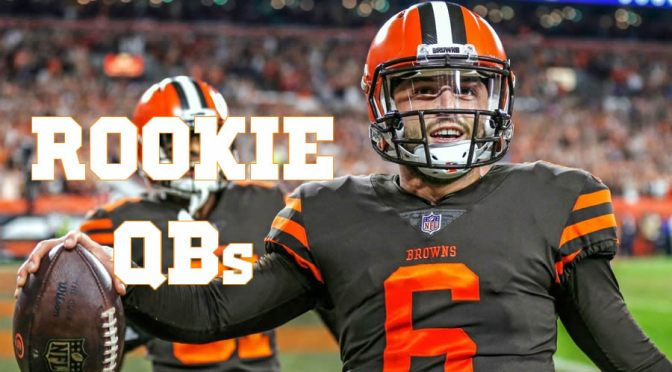 Evaluating the rookie quarterbacks with three weeks to go: