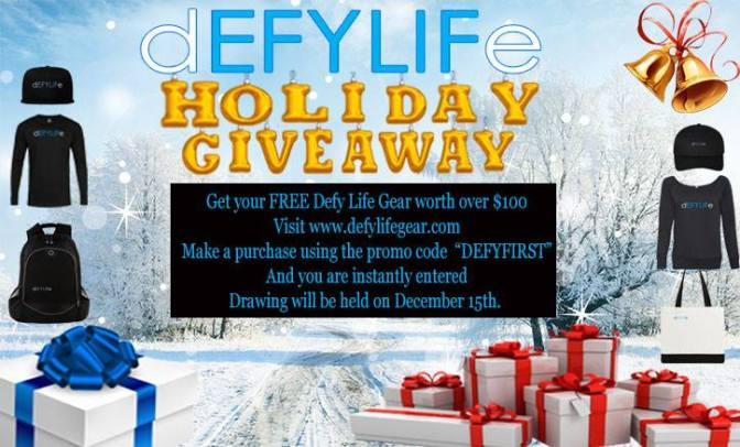 Defy Life Holiday Giveaway