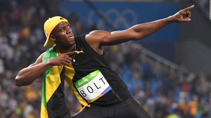 Usain Bolt Ties Combine 40 Record…In Sweatpants