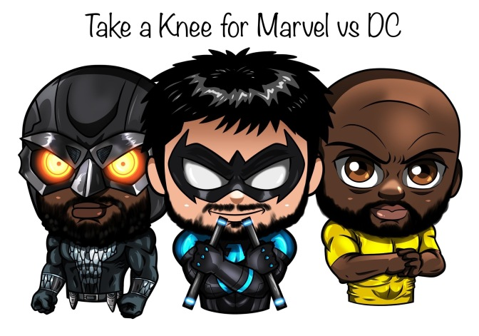 TAKE A KNEE FOR MARVEL VS DC EPISODE 22- DEFY LIFE SHENANIGANS