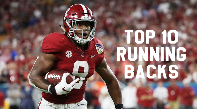 Top 10 running backs in the 2019 NFL Draft: