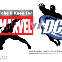 TAKE A KNEE FOR MARVEL VS DC EPISODE 39-BEST HAND TO HAND FIGHTERS AND SDCC