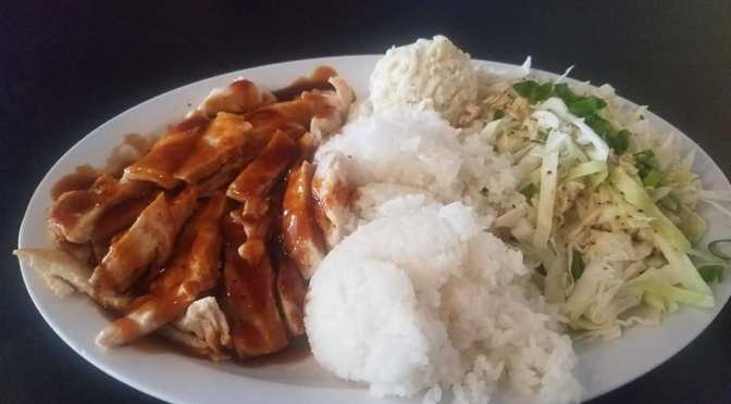 It's Teriyaki Time at The Grindz … set your watch on it!