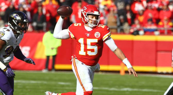 IS IT SMART TO DRAFT PAT MAHOMES IN THE FIRST ROUND OF YOUR FANTASY DRAFT?