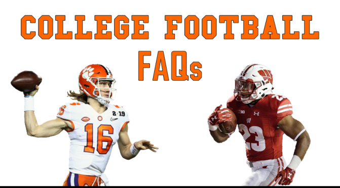 Most intriguing questions heading into the 2019 college football season: