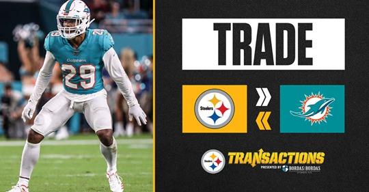 Steelers trade for Fitzpatrick… but did they get the right one from Miami?