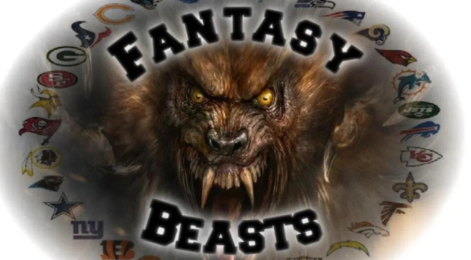 Fantasy Beast Daily fantasy plays Sunday 12/22/2019