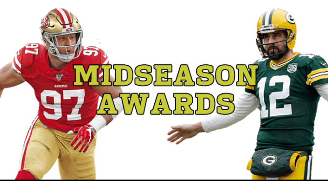 NFL 2019 Midseason Awards: