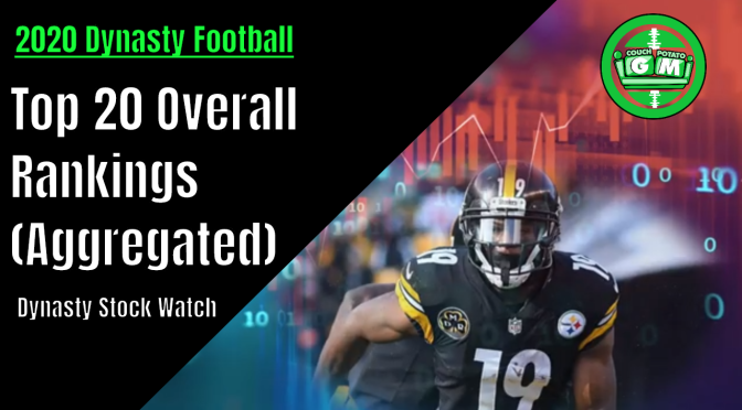 2020 Dynasty Rankings – Top 20 Overall (Aggregate)