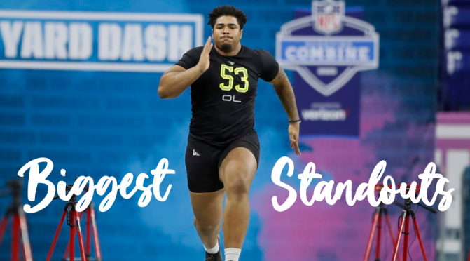 Biggest standouts from the 2020 NFL Combine: