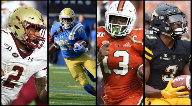 2020 NFL DRAFT Running Back SLEEPERS