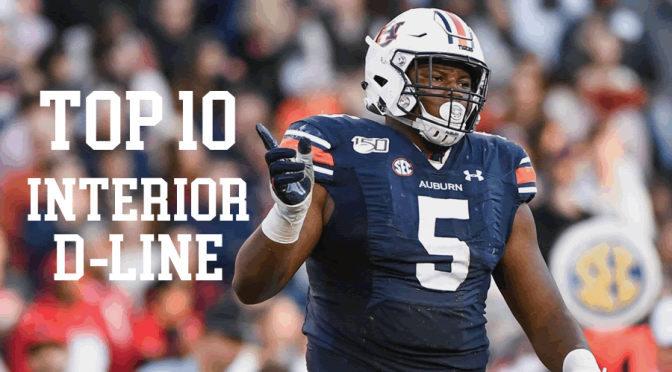 Top 10 interior defensive linemen in the 2020 NFL Draft: