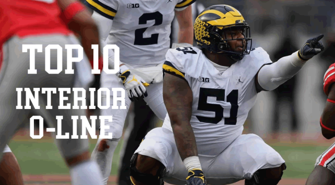 Top 10 interior offensive linemen in the 2020 NFL Draft:
