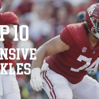Top 10 offensive tackles in the 2020 NFL Draft: