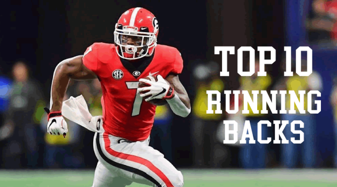 Top 10 running backs in the 2020 NFL Draft: