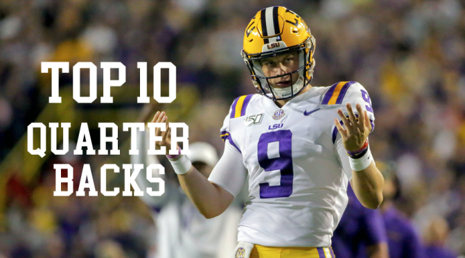 Top 10 quarterbacks in the 2020 NFL Draft: