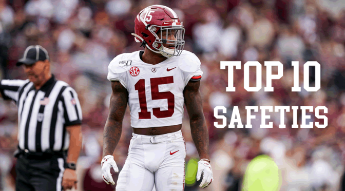 Top 10 safeties in the 2020 NFL Draft: