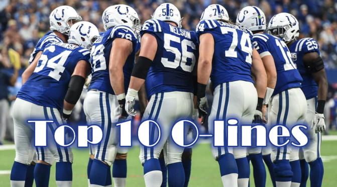 Top 10 offensive lines in the NFL heading into 2020: