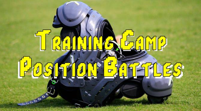 Key position battles at 2020 NFL training camp: