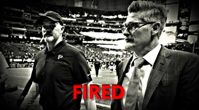 HC Quinn & GM Dimitroff FIRED! Atlanta Falcons move on after starting 0-5