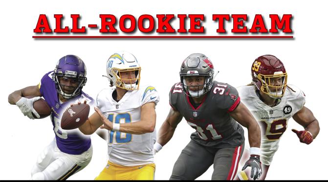 NFL All-Rookie team 2020:
