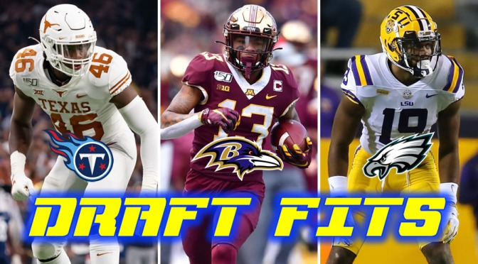 Favorite team-prospect fits for the 2021 NFL Draft: