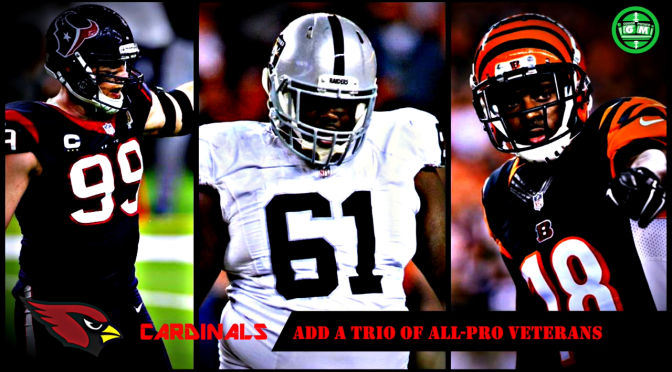 AN ALL-PRO TRIO HEAD TO THE DESERT!