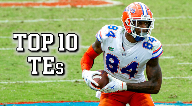 Top 10 tight-ends in the 2021 NFL Draft: