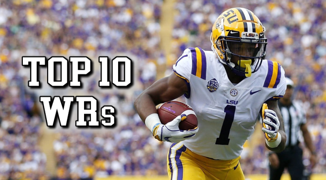 Top 10 wide receivers in the 2021 NFL Draft: