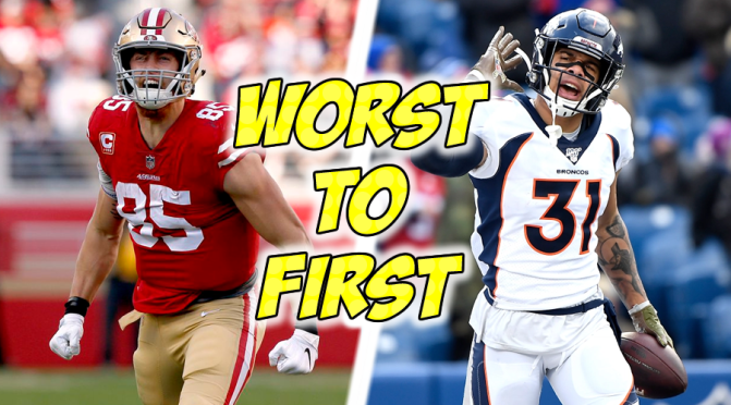 NFL teams most likely to go from worst to first in 2021: