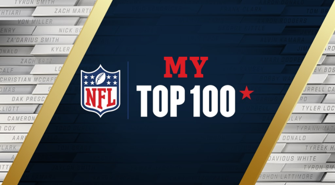 My NFL Top 100 players of 2021: