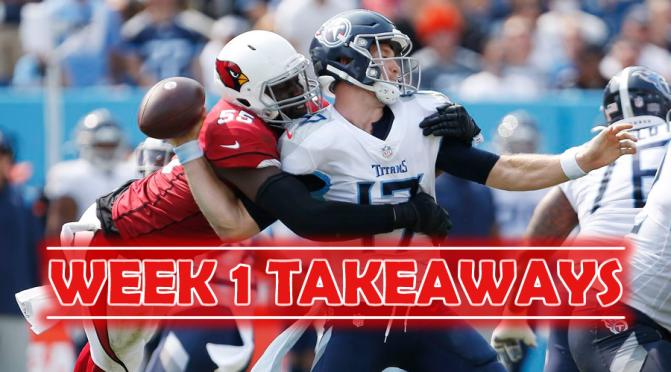 Three biggest takeaways from every NFL week one game:
