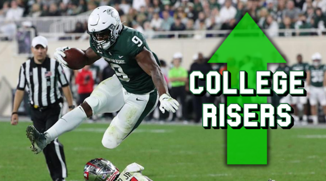 Biggest risers midway through the 2021 college football season: