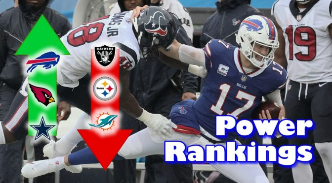 NFL Power Rankings after the first quarter of the '21 season: